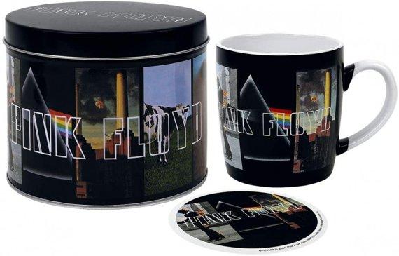 zestaw prezentowy kubek PINK FLOYD - ALBUMS