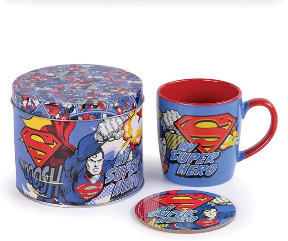 zestaw prezentowy kubek SUPERMAN - MY SUPER HERO