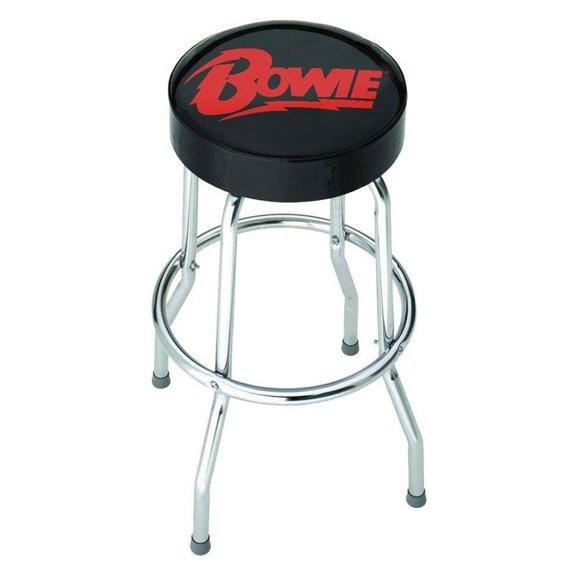 zestaw stolik + dwa hokery DAVID BOWIE - LOGO