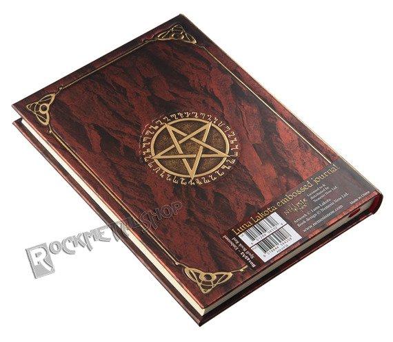 zeszyt/pamiętnik BOOK OF SHADOWS RED