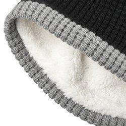 czapka zimowa WEST COAST CHOPPERS - KNITTED CROSS BLACK/GREY